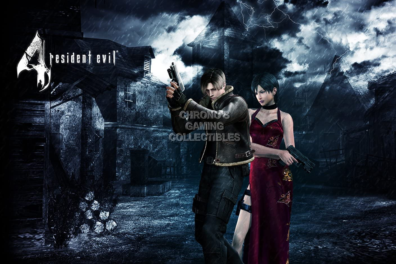 Amazon Com Primeposter Resident Evil 4 Leon And Ada Poster