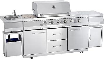 Allgrill Gas Bbq Outdoor Kitchen Professional Amazon De Baumarkt