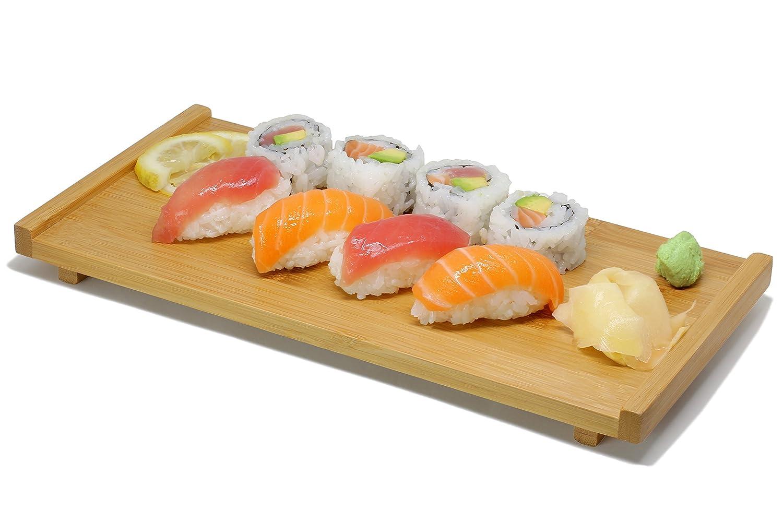 Stjerne Nigiri multiuso bandeja (bandeja de toalla, decoración, bandeja de alimentos, Sushi, queso, embutidos, alimentos grado de la laca): Amazon.es: Hogar