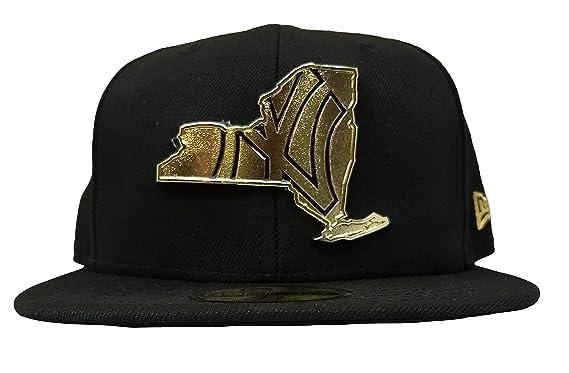 84bfbde4ddb New Era New York Yankees MLB Gold Stated 59FIFTY Cap (Black) at ...
