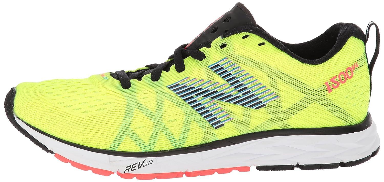New Balance Women's 1500v4 Running Shoe B06XSFBLCJ 55 D US|Hi Lite/Black