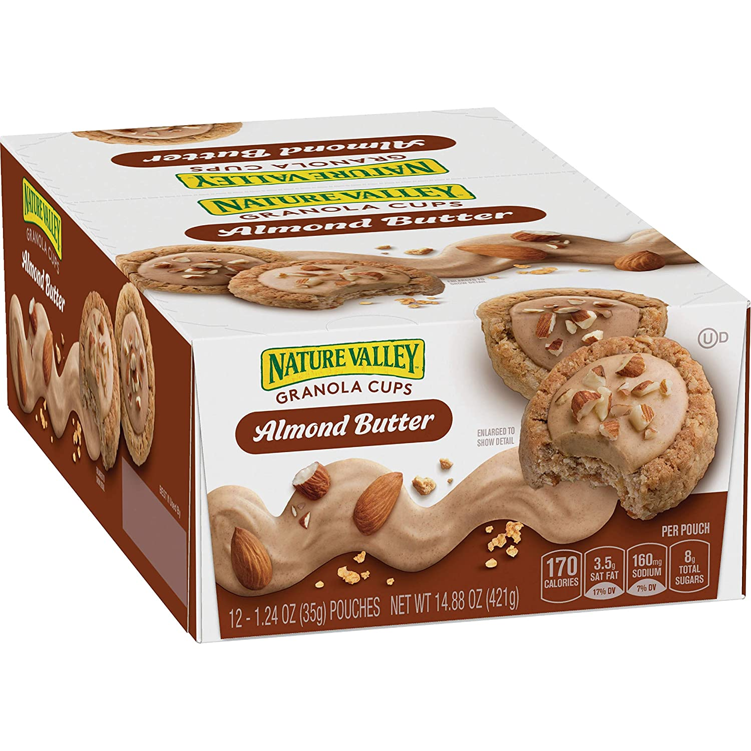 Nature Valley Almond Butter Granola Cups, 72 Count