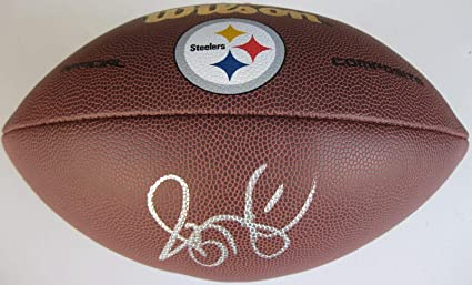 e69933879 Jerome Bettis Signed Football - coa proof - Autographed Footballs at ...