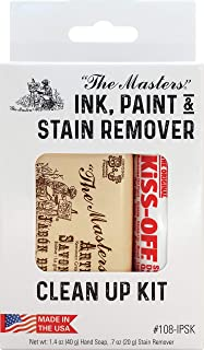 product image for General Pencil Ink, Paint & Stain Remover Clean Up Kit-Kiss-Off & The Masters Soap