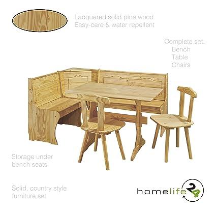 Banco rinconera de juego completo incluye mesa 2 sillas 1 banco ...
