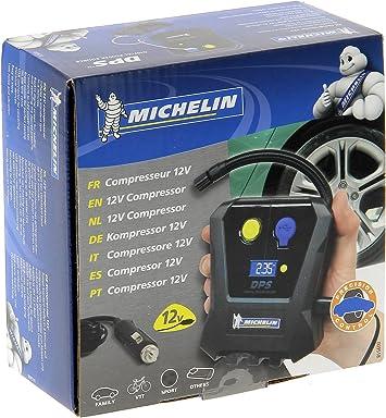 MICHELIN 009518 Mini Compresor Digital, 12V, Norme: Amazon.es ...