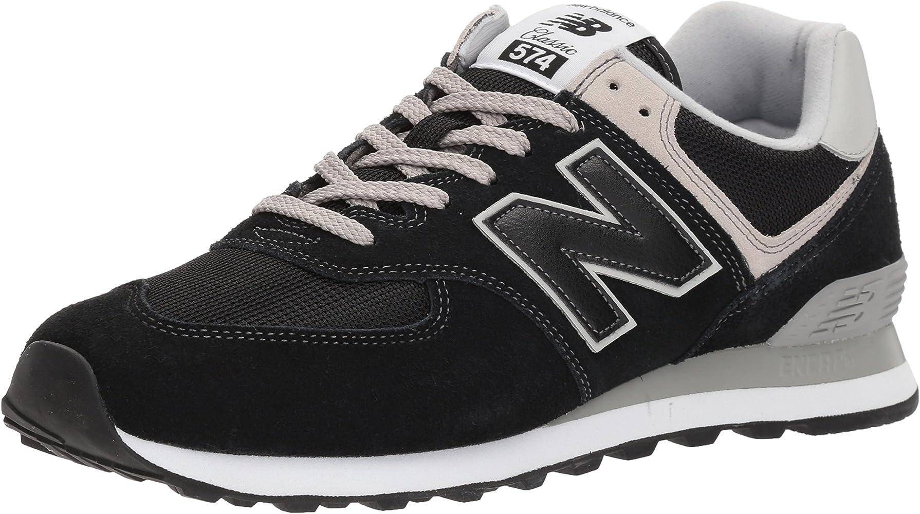 8187c36960 New Balance Herren 574v2 Core Sneaker, Schwarz (Black), 43 EU ...