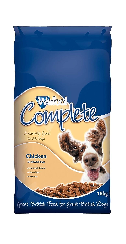 Wafcol Croquettes pour chien adulte Poulet 15 kg 03055