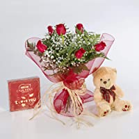 REGALAUNAFLOR-Pack amor completo-FLORES NATURALES-ENTREGA EN 24 HORAS DE MARTES A SABADO.-San valentin-Flores frescas