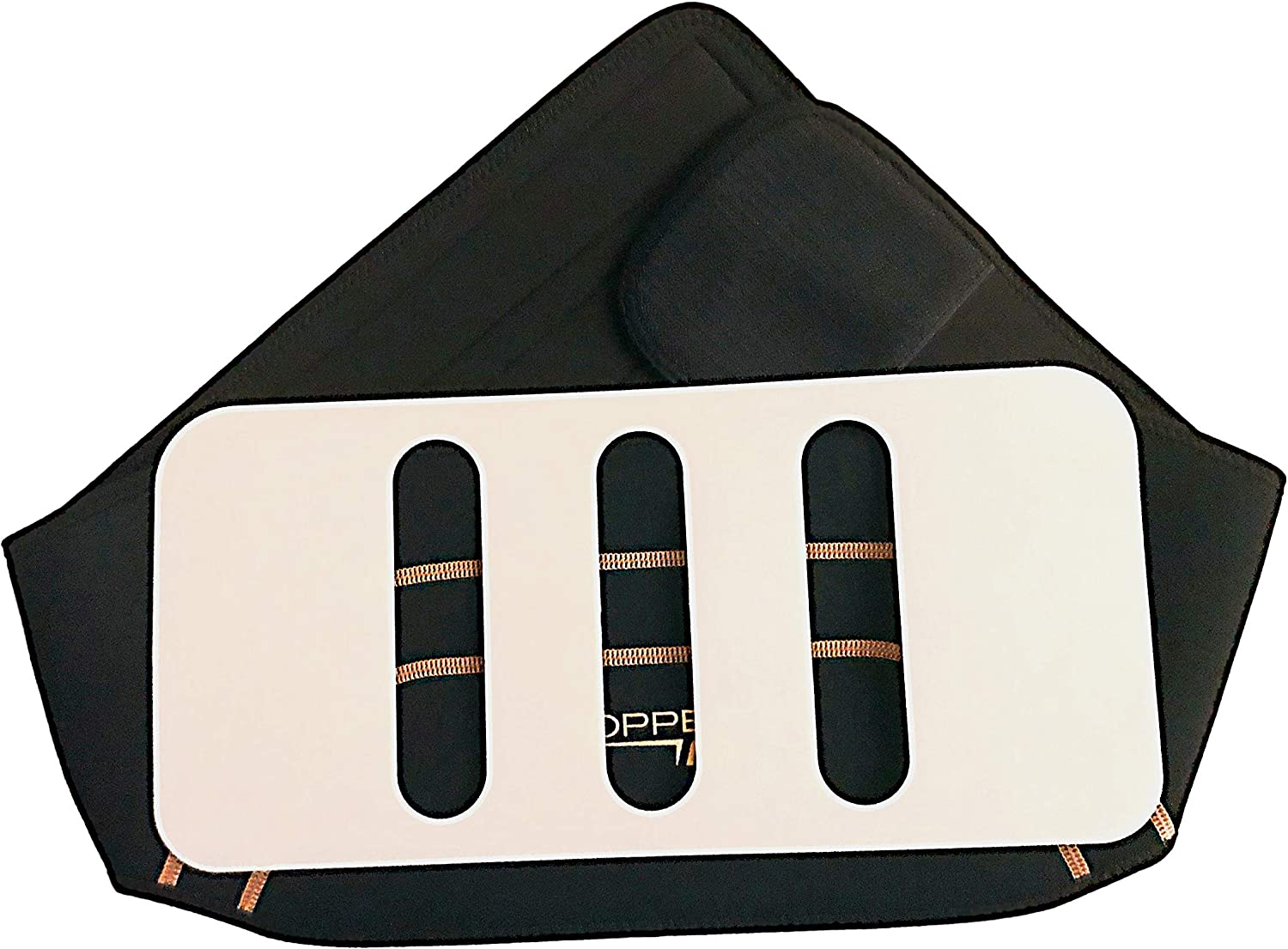28-39 Copper Fit Deluxe Compression Lower Back Support AS SEEN ON TV New All Sizes Comes with The Support Panel Use with or Without The Support Panel Small//Medium