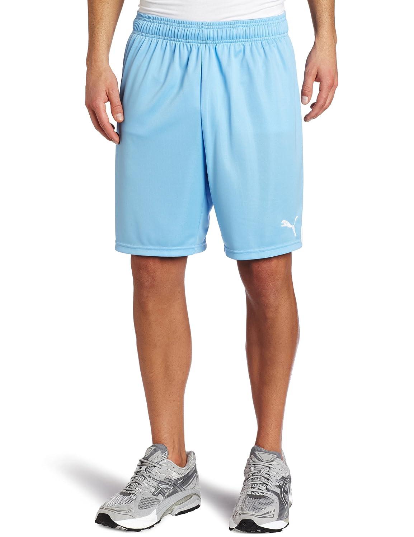 Puma Team Shorts without Inner Slip, Team Pearl Blau-Weiß, Medium