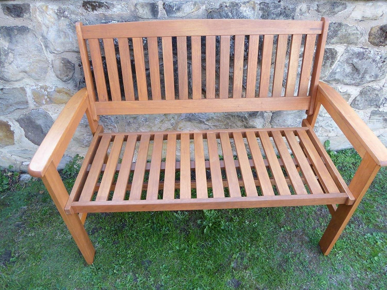 Brilliant Uk Gardens Heavy Duty Wooden 2 Seater Garden Bench Quality Hardwood Gamerscity Chair Design For Home Gamerscityorg