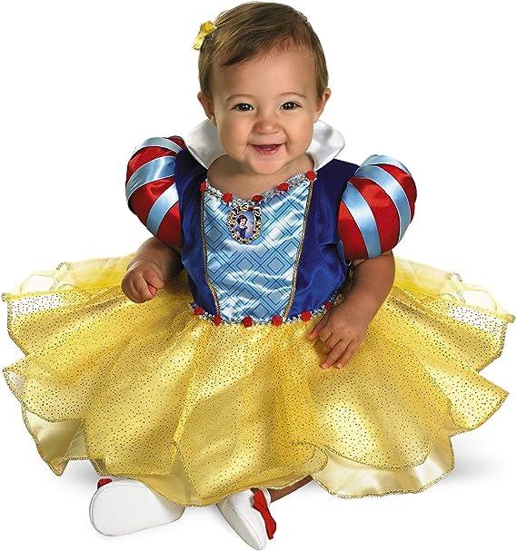 Amazon.com: Vestido de Blancanieves para bebés, 12-18 ...