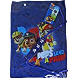 Children's Character Waterproof Gym School PE Beach Swim Bag - Paw Patrol Blue