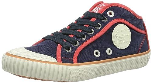 Pepe Jeans London - Zapatillas Mujer, Azul (Sailor), 38 (EU)