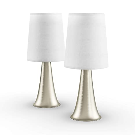 Porch & Den Delano St  Clair Mini Touch Table Lamp Set with