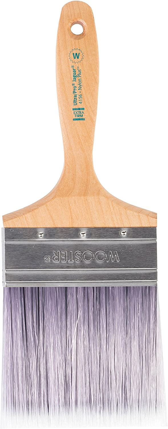 4-Inch Wooster Brush 4156-4 Ultra//Pro Extra-Firm Jaguar Wall Paintbrush