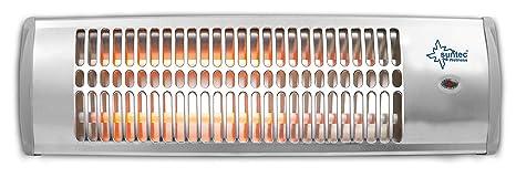 SUNTEC Calefactor radiante de cuarzo Heat Ray 1500 [Para habitaciones de hasta 45 m³ (