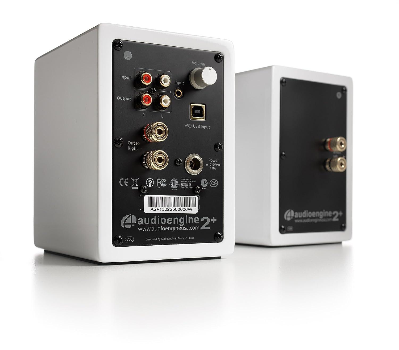 A2 premium powered desktop speakers youtube - Audioengine A2 Mini Bookshelf Powered Speaker White Amazon Ca Computers Tablets