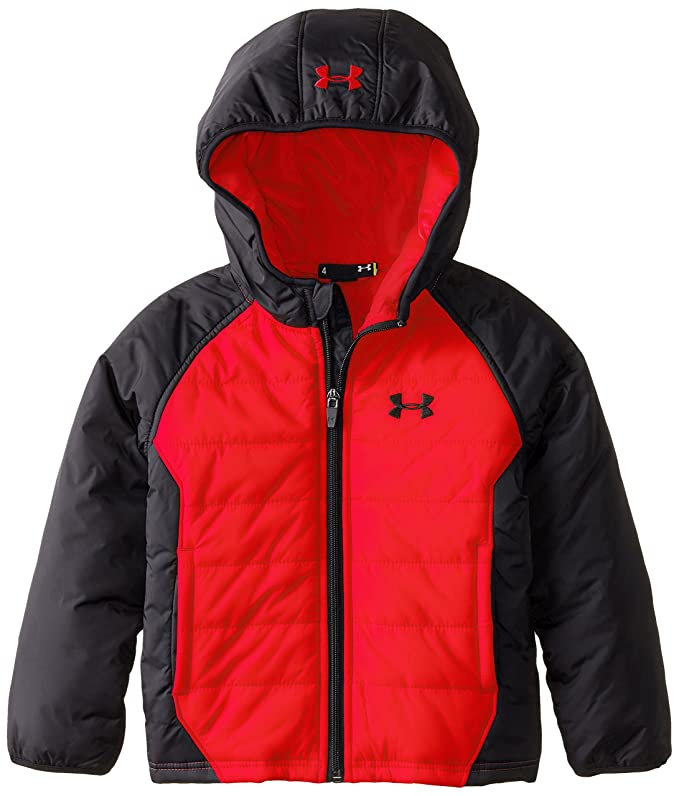127717412 Amazon.com: Under Armour Little Boys' Werewolf UA Quilted Jacket, Risk Red,  4: Clothing