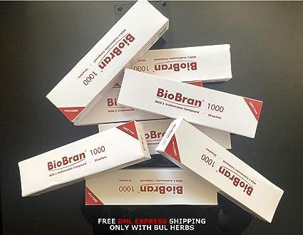 Amazon.com: BIOBRAN MGN -3 (1000 mg, 30 bolsas) – Uno de los ...