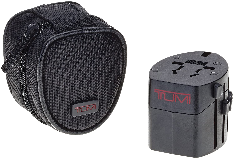Tumi 014385D Luggage Electric Ballistic Case Adaptor, Black, Small