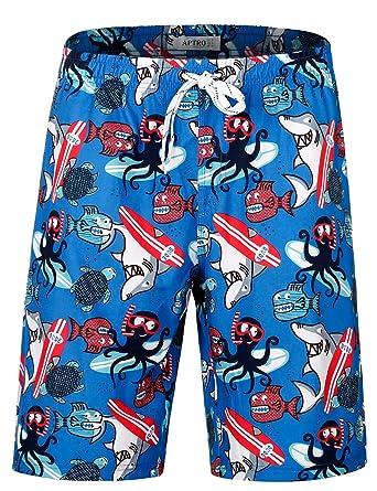 4bdb6145b24 Men's Swim Trunks Quick Dry Board Shorts Bathing Suit Swimwear Beach Shorts  No Mesh HW013 S