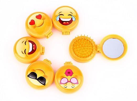 Lote de 48 Cepillos Espejos Emoticonos - Espejos Emoji para ...
