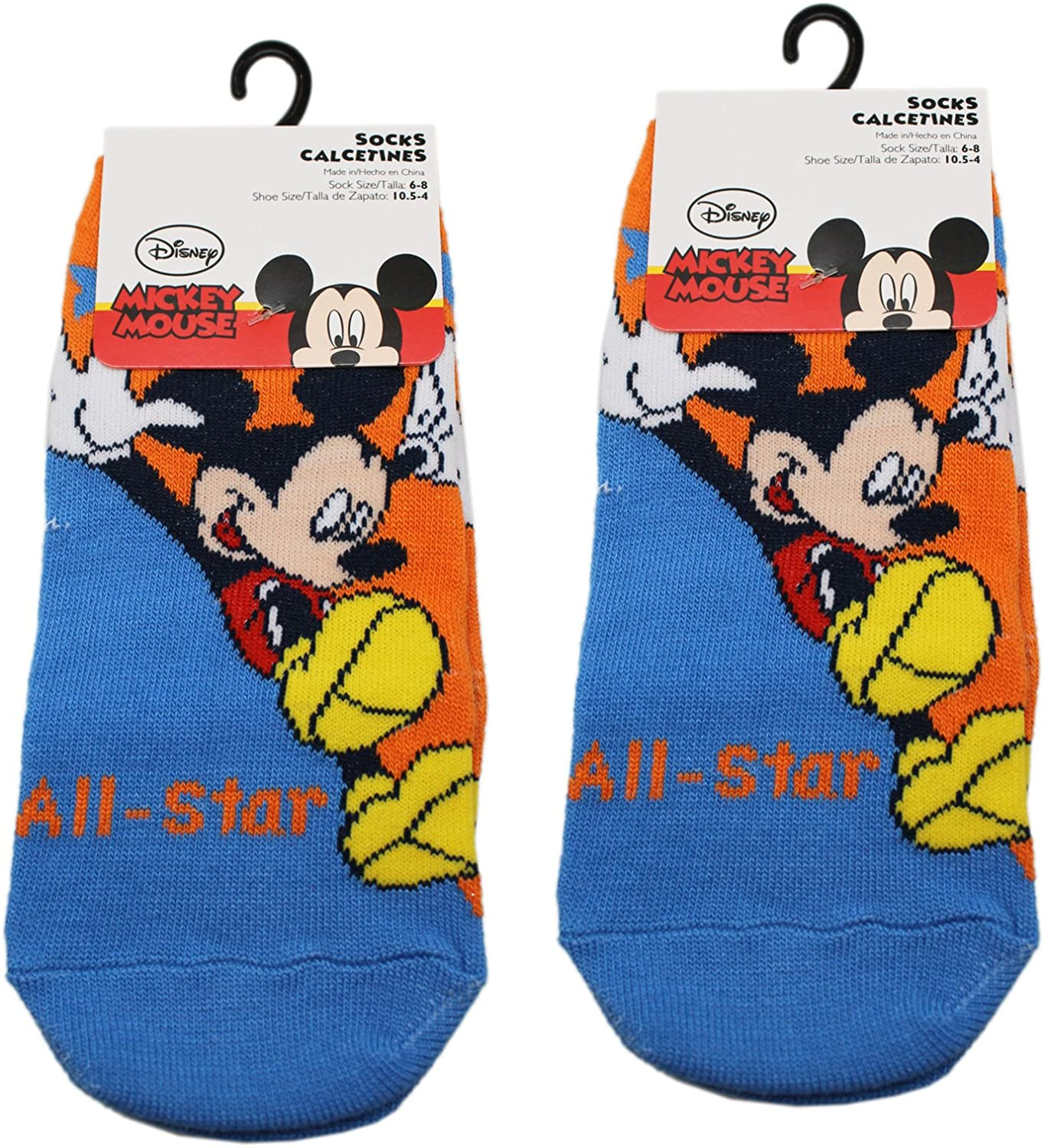 DISNEY PIXAR CARS 2 PAIRS OF SLIPPER SOX   NEW  2 SIZES AVAILABLE