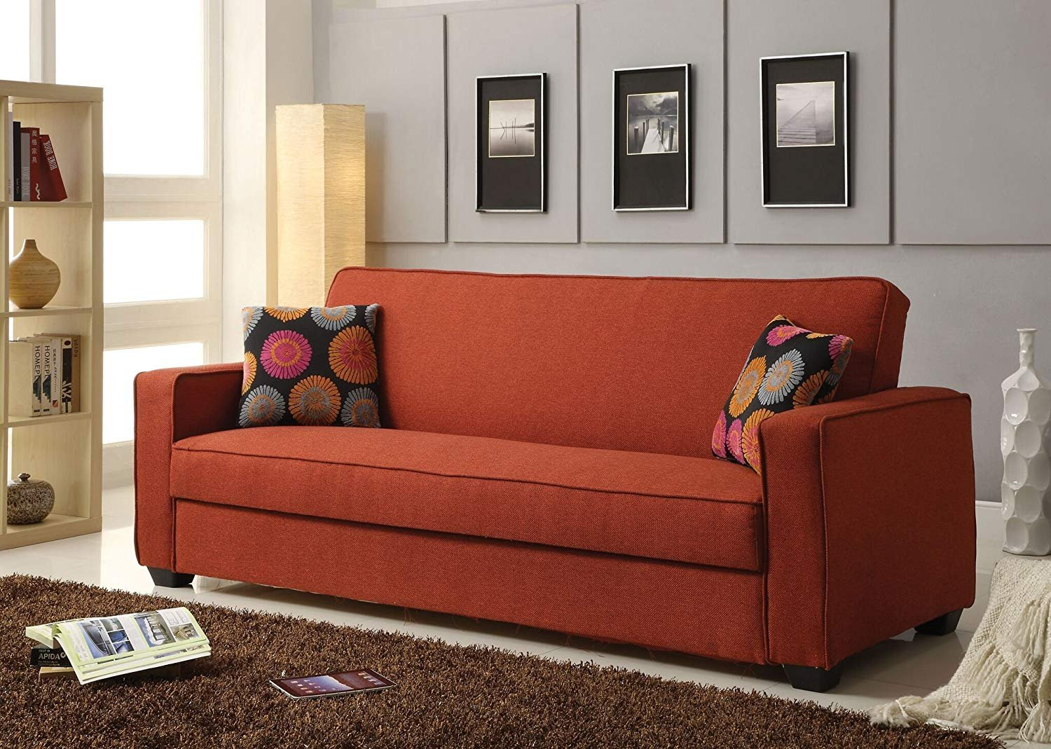 Amazon.com: Q-Max Sofa, Red: Kitchen & Dining
