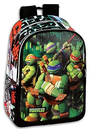 Tortugas Ninjas Mochila Daypack , Mochila 43x30x14 cm