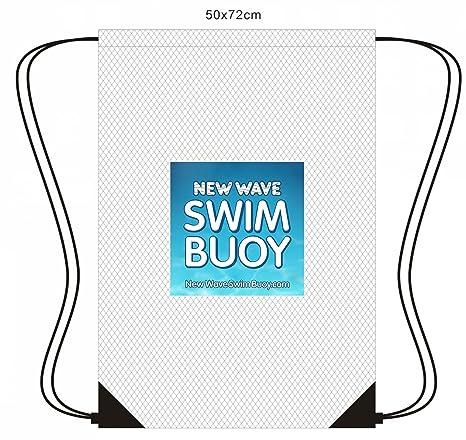 Nueva Ola de malla cordón mochila para triatlón Gear, equipo de natación y juguetes de