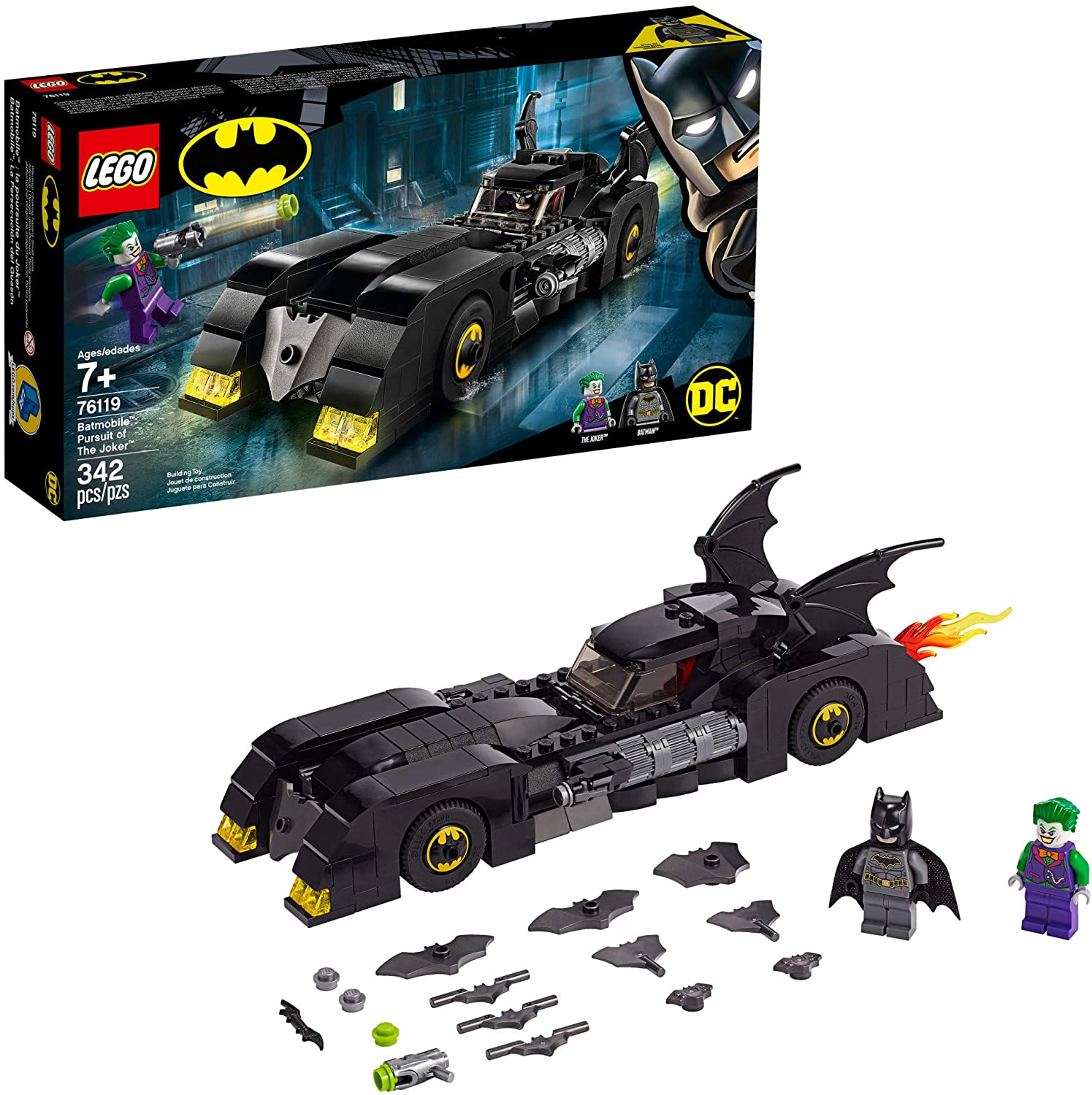 carro de lego batman