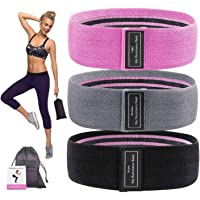 AnyTop Booty Resistance Bands for Legs and Butt, Exercise Bands Fitness Workout Bands, Resistance Loops Hip Thigh Anti…