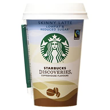 Starbucks skinny latte 220ml amazon grocery starbucks skinny latte 220ml sisterspd