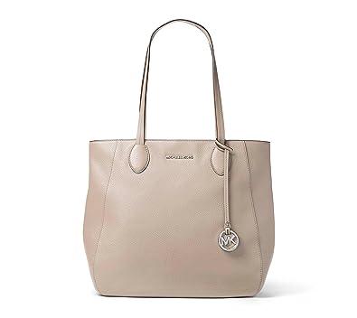 9687043923e8 Michael Kors Ani NS TZ Tote CEMENT: Handbags: Amazon.com