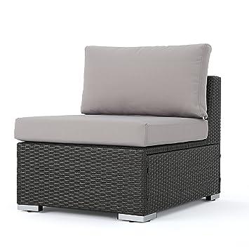 GDF Studio Francisco - Asiento de Mimbre para sofá con ...