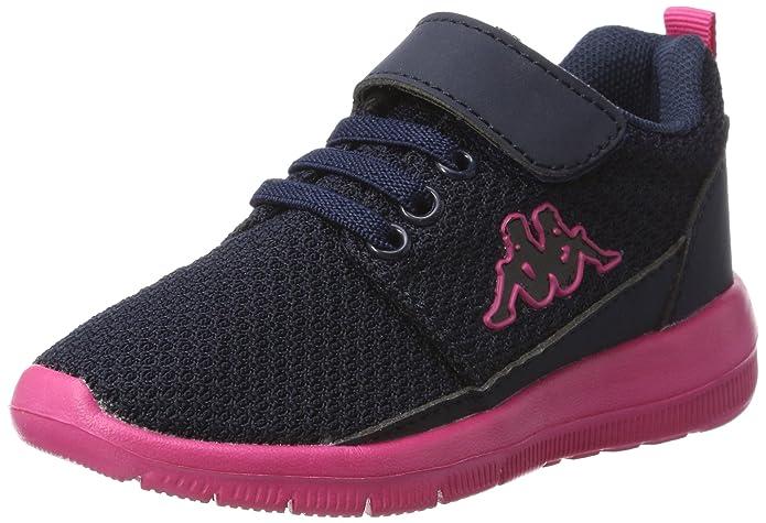 Kappa Speed 2.1, Zapatillas Unisex Niños, Azul (6722 Navy/Pink), 31 EU