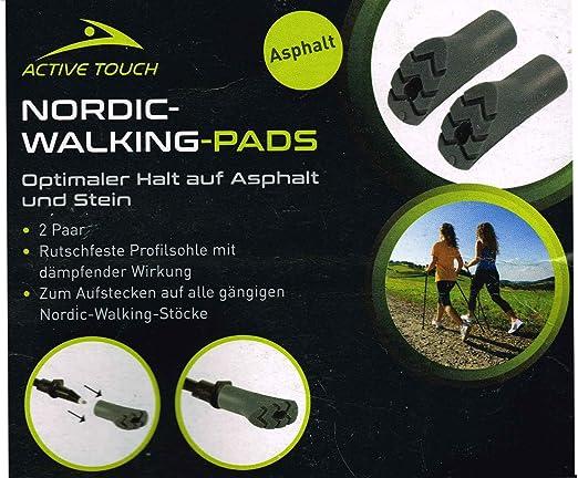 Details about  /4 Pairs Nordic Walking Sticks Pads Rubber Buffer Spare Pads Trekking Sticks 8 St. show original title