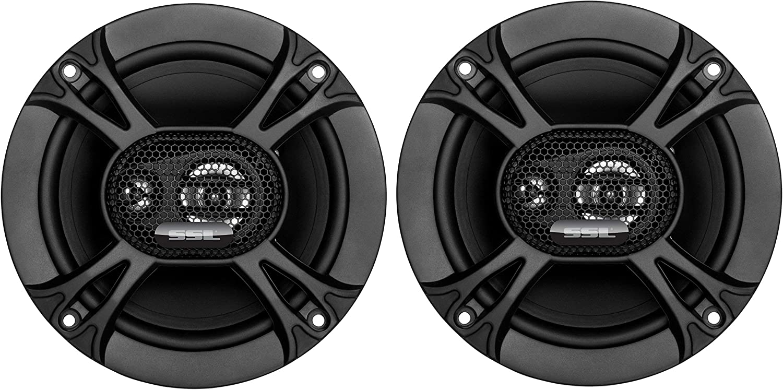 Sound Storm Labs EX365 150 Watt Per Pair 6.5 Inch Full Range 3 Way Car Speakers Sold in Pairs
