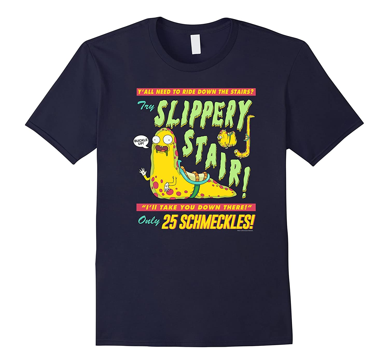 Rick  Morty Slippery Stair-RT