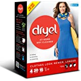 Dryel At-Home Dry Cleaner Starter Kit - 4 Loads (Packaging Image May Vary)