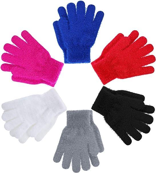 Girls Boys Kid/'s Magic Stretch Winter Warm Comfy Glove 3 to 10 years Xmas Gift