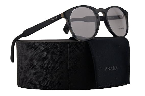 228a1c8e6204b Amazon.com  Prada PR19SV Eyeglasses 50-20-140 Grey w Demo Clear Lens ...
