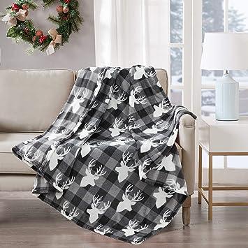Rot /& Weiß Camouflage Design Weich Fleece Überwurf Decke Tolle Geschenkidee
