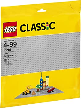 LEGO Classic Gray Baseplate 10701 Building Accessory (1 Piece)