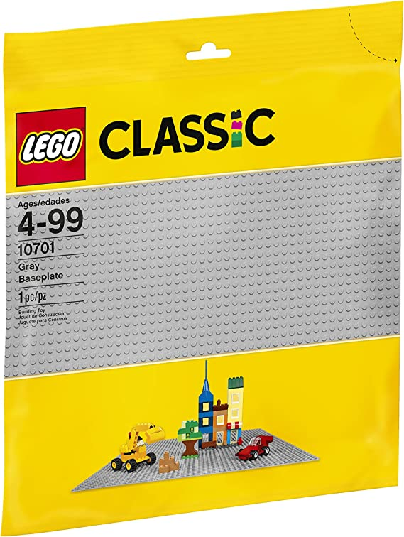 Lego 50 New Classic Dark Gray 1 x 2 Dot Building Blocks Pieces
