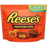 REESE'S Chocolate Peanut Butter Cup Candy, Miniatures, 10.5 oz Bag