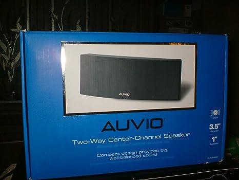 AUVIO 2 Way Center Channel Speaker
