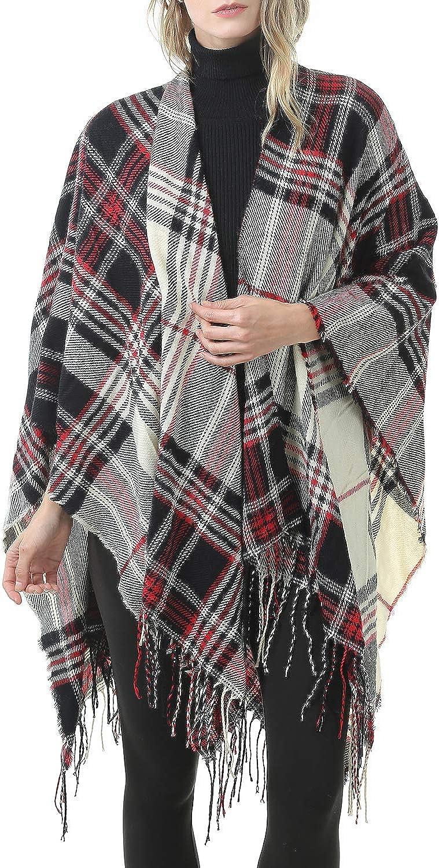 Zando Vintage Plaid Blanket...